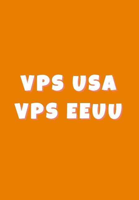 VPS USA es VPS en los Estados Unidos EEUU (vps en los ee.uu.)