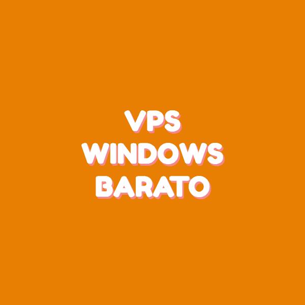 vps windows barato